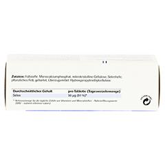 SELENMINERASE Plus Tabletten 50 Stück - Unterseite