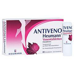 ANTIVENO Heumann Venentabletten + gratis Lippenpflegestift Antiveno 30 Stück