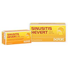 SINUSITIS HEVERT SL Tabletten + gratis SINUSITIS Taschentuchbox 40 Stück N1
