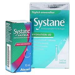 SYSTANE Ultra Benetzungstropfen + gratis Systane Hydration UD 5 X 0,7 ml 10 Milliliter