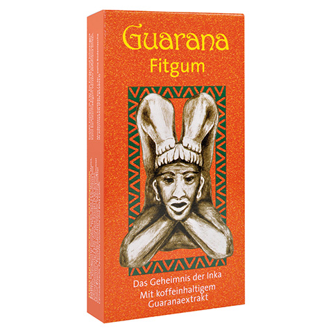 Guarana Fitgum Blisterpackung Kaudragees 2x10 Stück