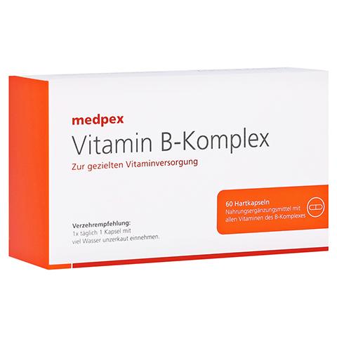 medpex Vitamin B-Komplex Kapseln 60 Stück