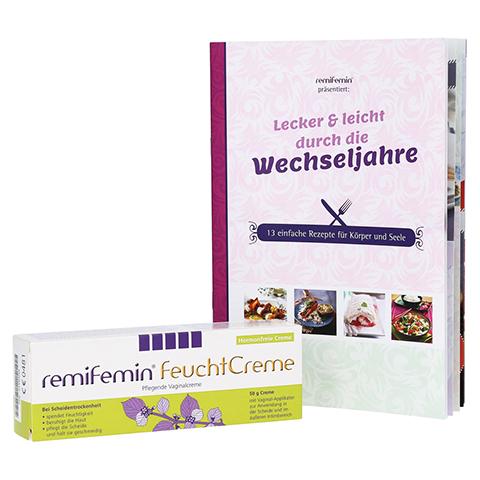 REMIFEMIN Feuchtcreme + gratis remifemin Kochbuch 50 Gramm