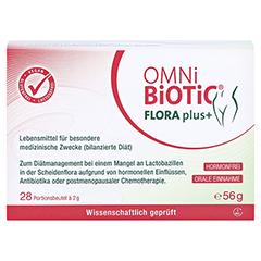 OMNi BiOTiC Flora plus+ Beutel 28x2 Gramm - Vorderseite