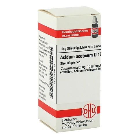 ACIDUM ACETICUM D 12 Globuli 10 Gramm N1