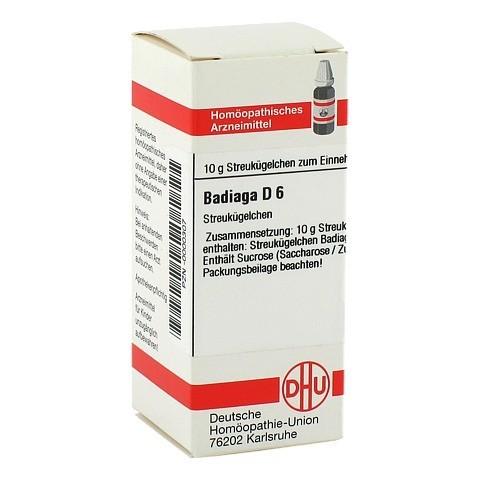 BADIAGA D 6 Globuli 10 Gramm N1