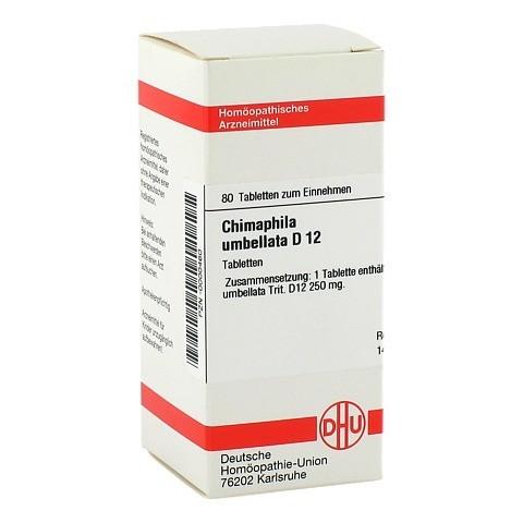 CHIMAPHILA UMBELLATA D 12 Tabletten 80 Stück N1