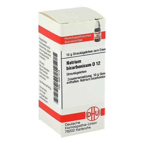 NATRIUM BICARBONICUM D 12 Globuli 10 Gramm
