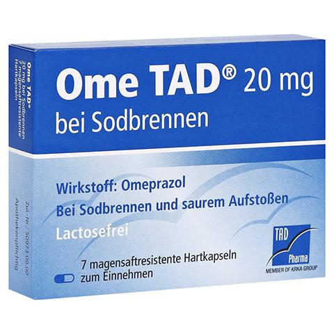Ome TAD 20mg bei Sodbrennen 7 Stück