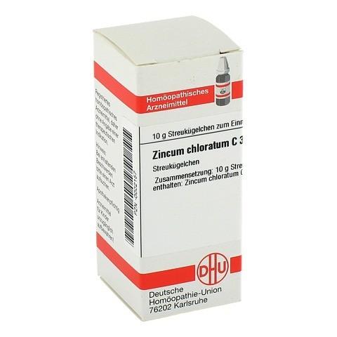 ZINCUM CHLORATUM C 30 Globuli 10 Gramm N1
