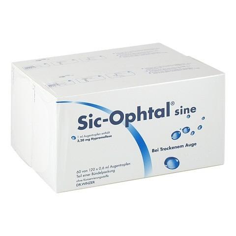 Sic-Ophtal sine Augentropfen 120x0.6 Milliliter N3