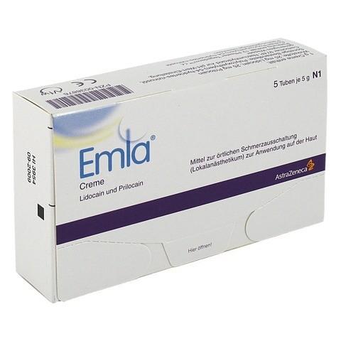 EMLA Creme + 12 Tegaderm Pflaster 5x5 Gramm N2