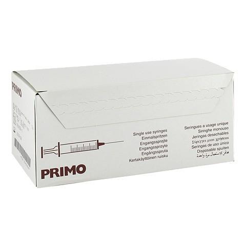 PRIMO Einmalspritze 2 ml Luer 80x2 Milliliter