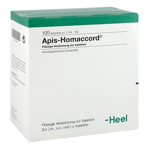 APIS HOMACCORD Ampullen 100 Stück N3