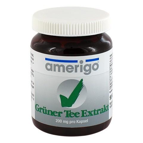 GRÜNER TEE Extrakt amerigo 200 mg Kapseln 90 Stück