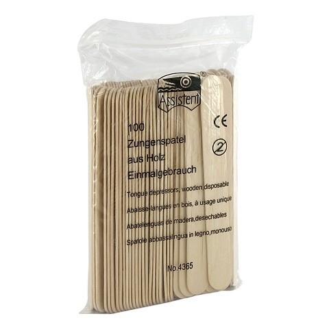 ZUNGENSPATEL aus Holz 100 Stück