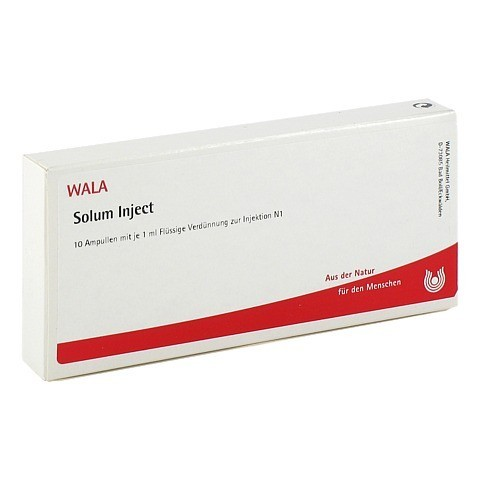 SOLUM Inject Ampullen 10x1 Milliliter N1