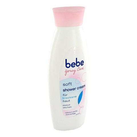 BEBE Young Care Soft Shower Cream f.trock.Haut 250 Milliliter