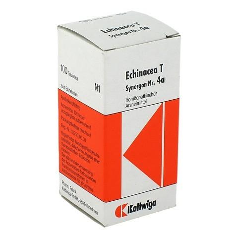 SYNERGON KOMPLEX 4 a Echinacea T Tabletten 100 Stück