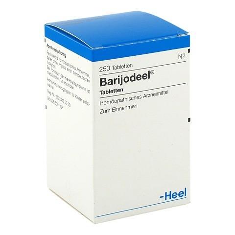 BARIJODEEL Tabletten 250 Stück N2