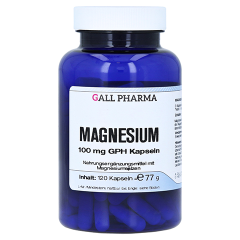 MAGNESIUM 100 mg Kapseln 120 Stück