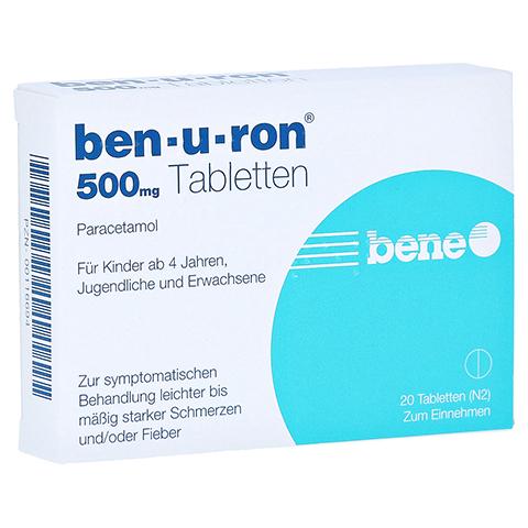 Ben-u-ron 500mg 20 Stück N2