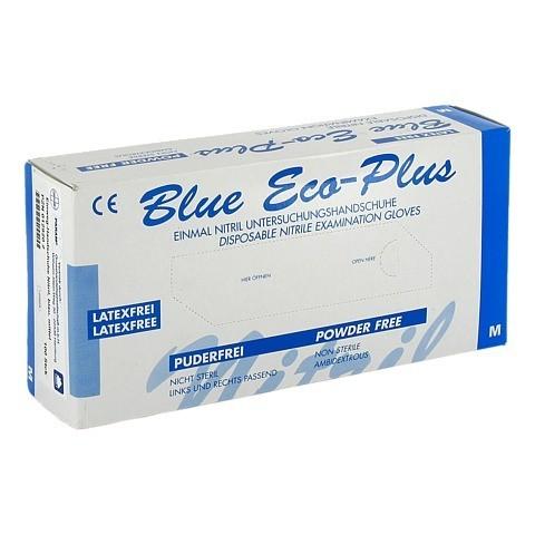 HANDSCHUHE Einmal Nitril M blau 100 Stück