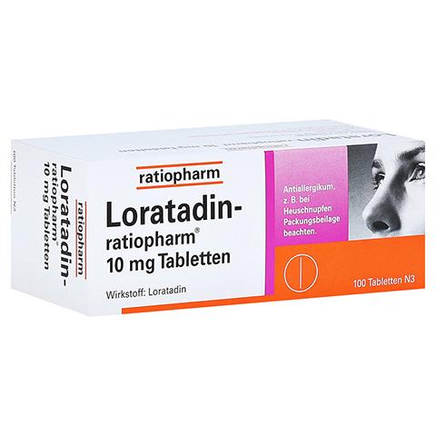 Loratadin-ratiopharm 10mg 100 Stück N3
