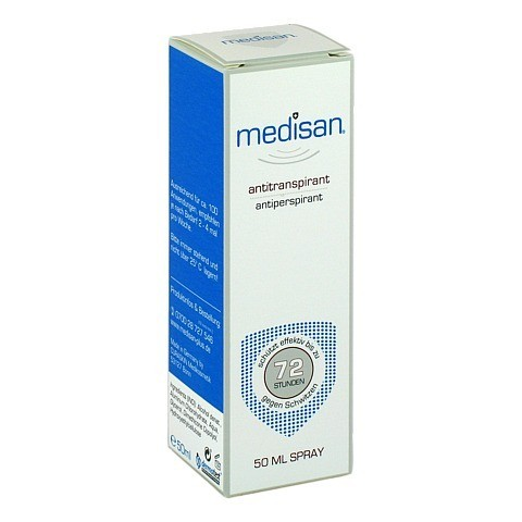 MEDISAN Plus Antitranspirant Deo Spray 50 Milliliter