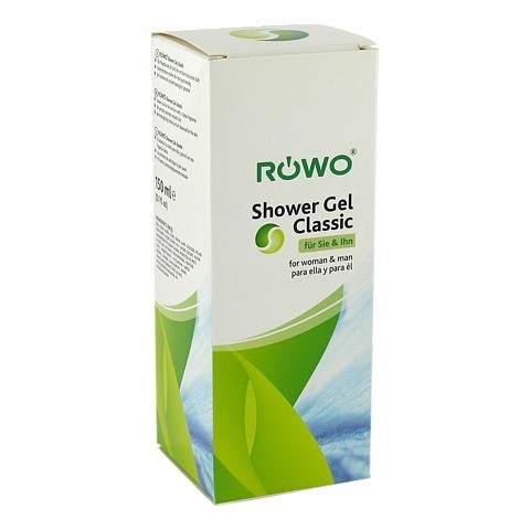 SHOWER Gel Classic Röwo 150 Milliliter