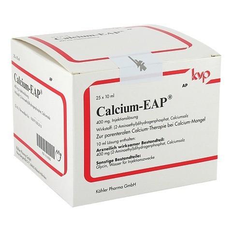 CALCIUM EAP Ampullen 25x10 Milliliter