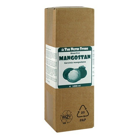 MANGOSTAN Bioactive Saft 1000 Milliliter
