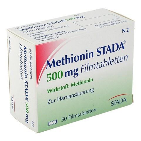 METHIONIN STADA 500 mg Filmtabletten 50 Stück N2