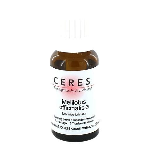 CERES Melilotus officinalis Urtinktur 20 Milliliter N1