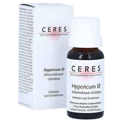 CERES Hypericum Urtinktur 20 Milliliter N1
