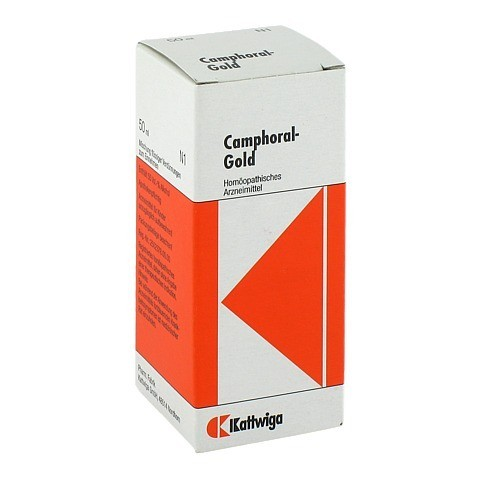 CAMPHORAL Gold Tropfen 50 Milliliter N1