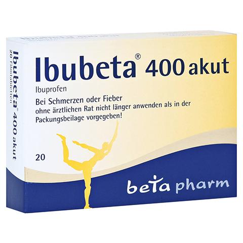 Ibubeta 400 akut 20 Stück