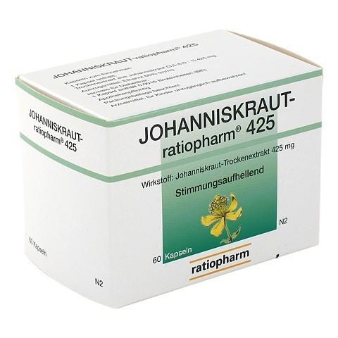 JOHANNISKRAUT-ratiopharm 425mg 60 Stück N2