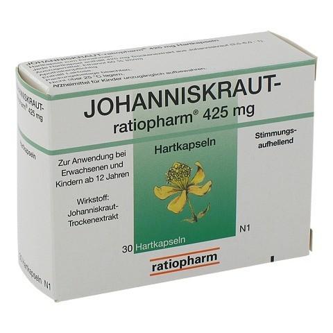 JOHANNISKRAUT-ratiopharm 425mg 30 Stück N1