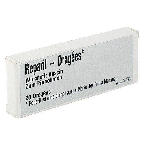 Reparil 20mg Dragees 20 Stück N1