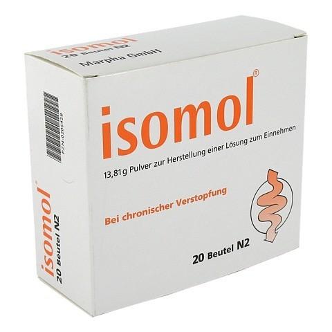 ISOMOL Beutel Plv.z.Her.e.Lsg.z.Einnehmen 20 Stück