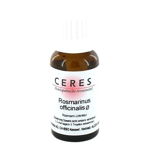 CERES Rosmarinus officinalis Urtinktur 20 Milliliter N1