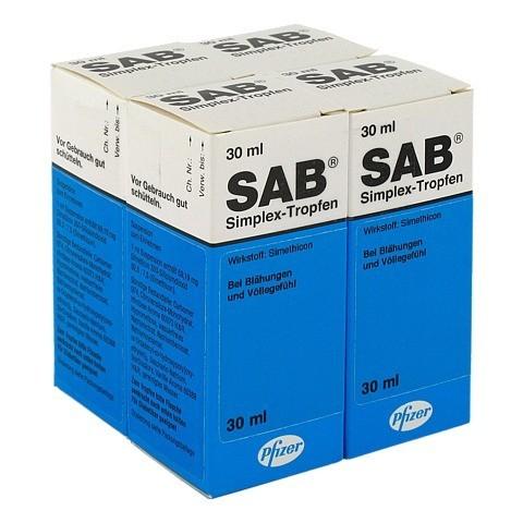 Sab simplex 4x30 Milliliter