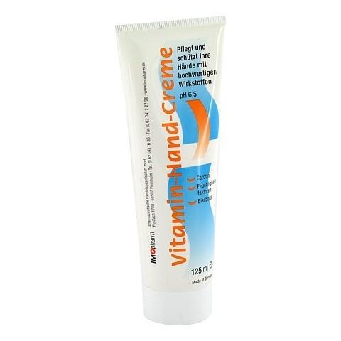 VITAMIN-HAND-CREME Imopharm 125 Milliliter