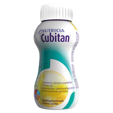 CUBITAN Vanillegeschmack Trinkflasche 4x200 Milliliter