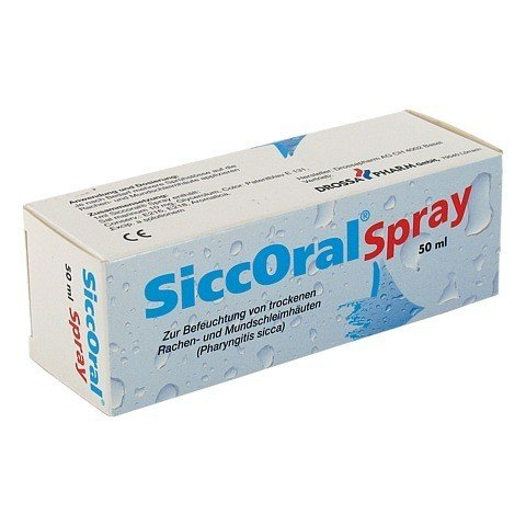 SICCORAL Spray 50 Milliliter