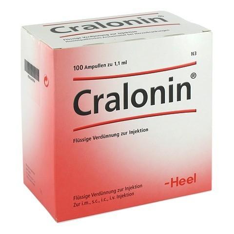 CRALONIN Ampullen 100 Stück N3