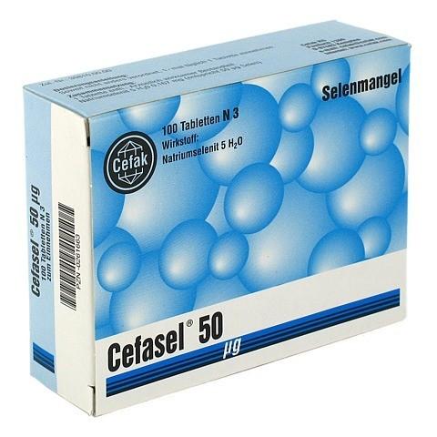 CEFASEL 50 µg Tabletten 100 Stück N3