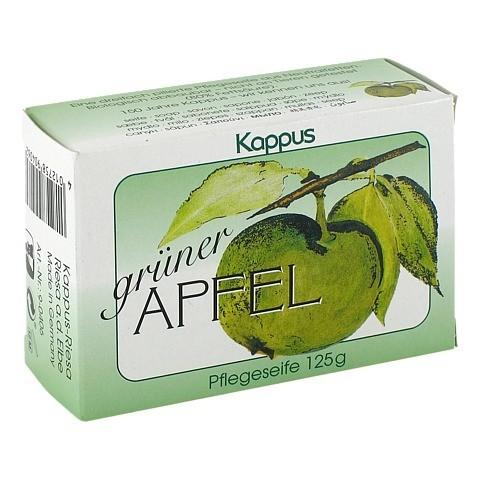 KAPPUS grüner Apfel Seife 125 Gramm