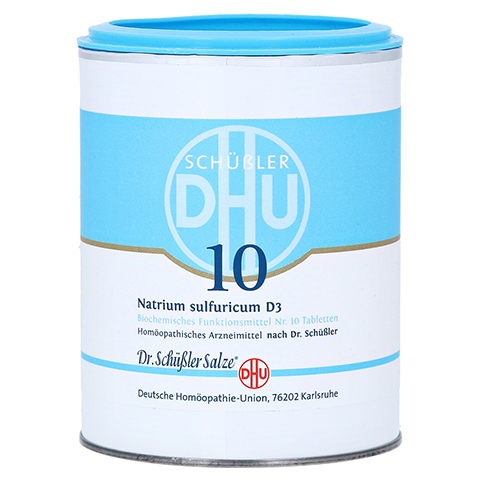 BIOCHEMIE DHU 10 Natrium sulfuricum D 3 Tabletten 1000 Stück